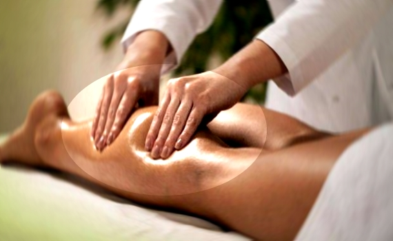 массаж по-фински глубоко воздействует на мышцы
